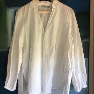 Vince cotton white shirt